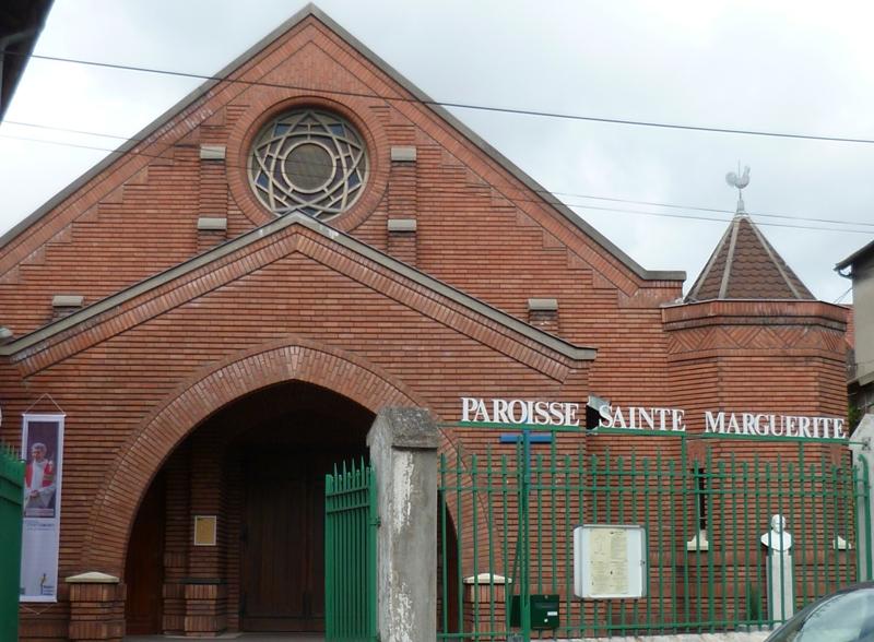 Sainte Marguerite entrée