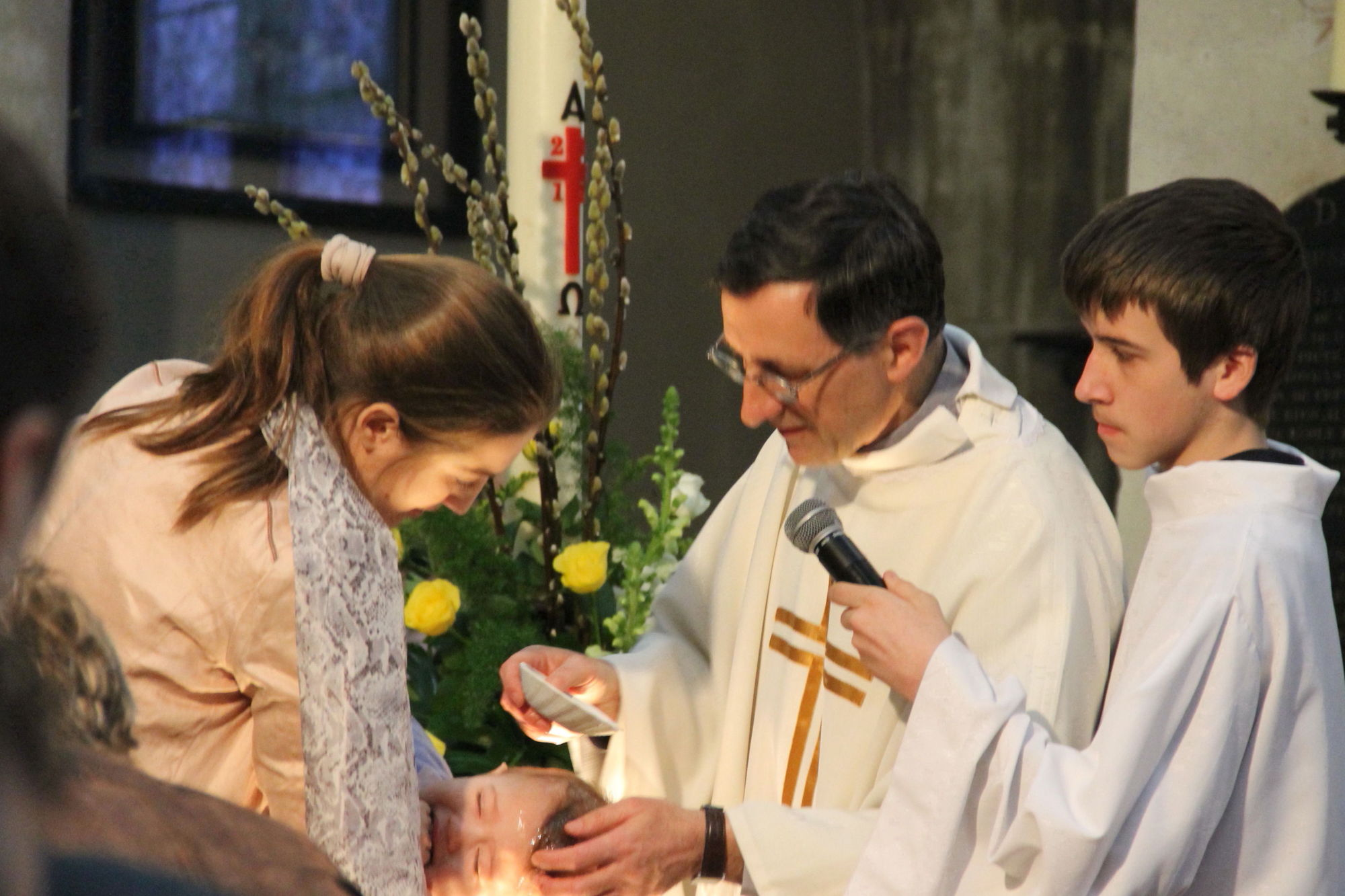 baptême Pâques