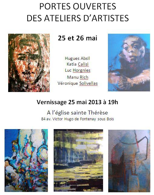Atelier Artiste 2013 1