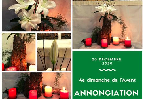 Bouquet du 4e dimanche de l'Avent
